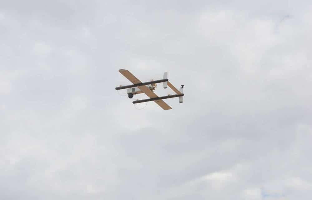 Droni consegna pacchi: il record è 97 miglia