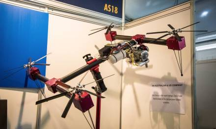 I multicotteri diventano long range, ma con motore a scoppio