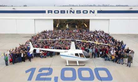 Robinson: dodicimila elicotteri