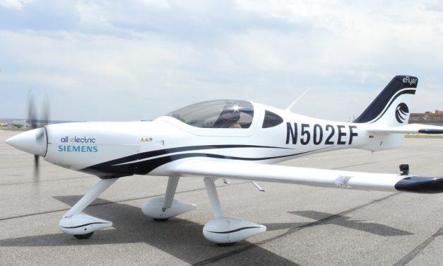 Bye Aerospace: nuovo motore elettrico per l'eFlyer 2