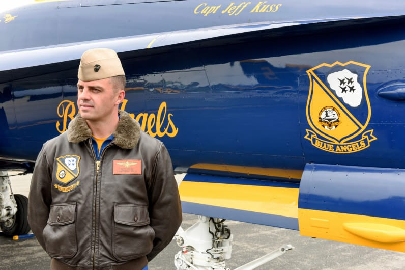 "Incidente ai ""Blue Angels"""